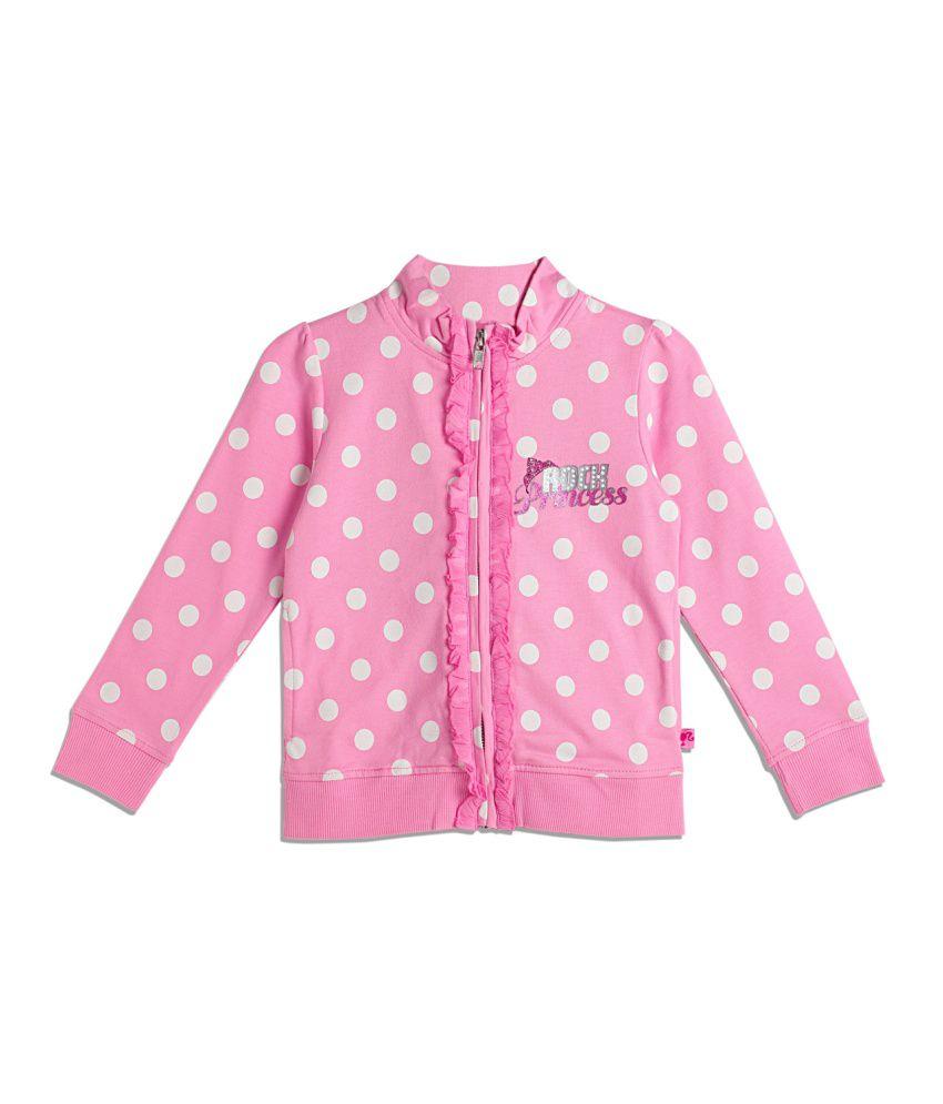 Barbie Pink Cotton Sweatshirt