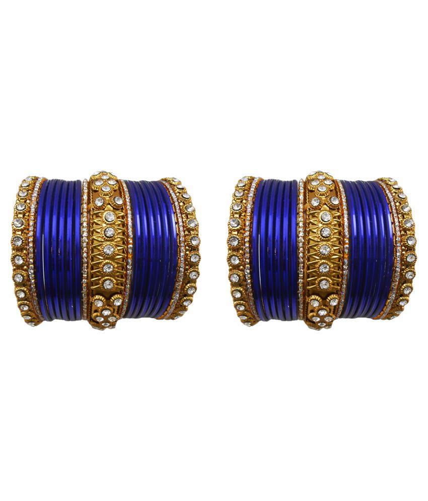 My Design Blue Bangle Set