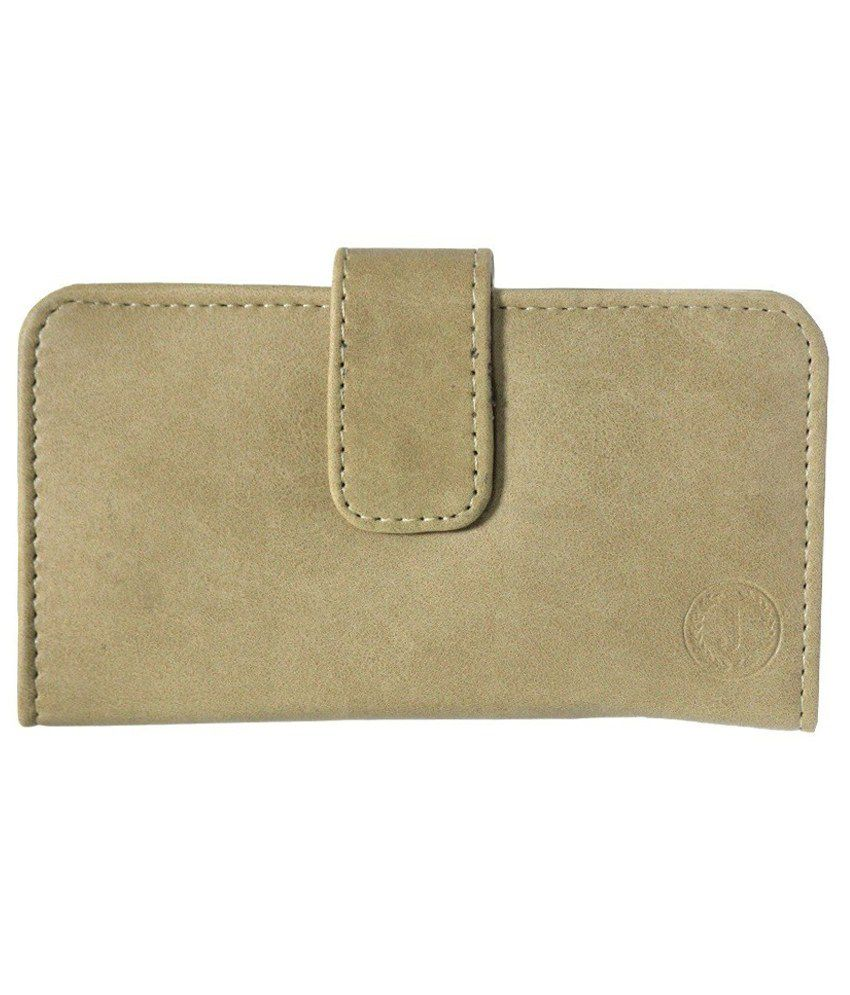 Jo Jo Pouch For Micromax Bolt A 26 - Beige