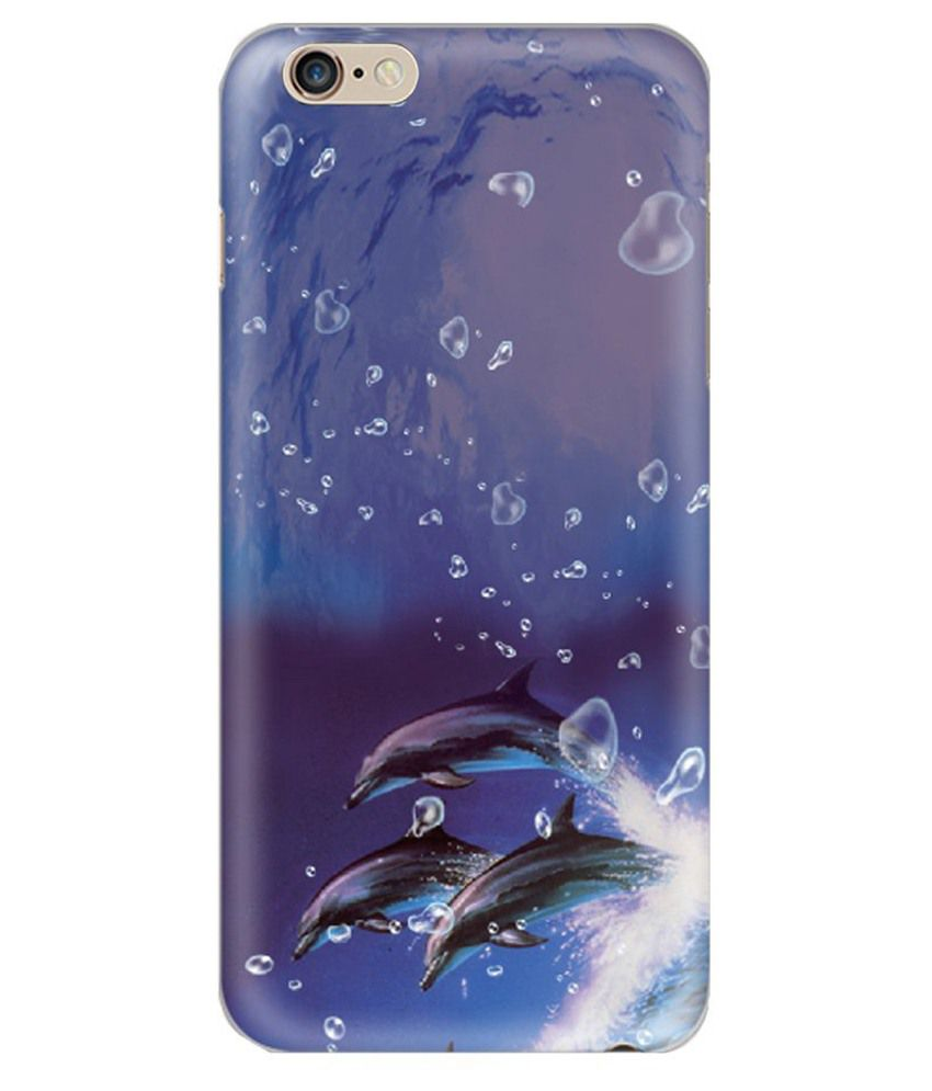 Apple Iphone 6 Plus Printed Covers by Hamee - purple