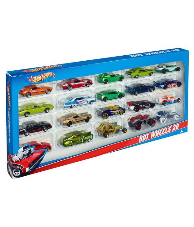 Hot Wheels 20 Cars Gift Set - Buy Hot Wheels 20 Cars Gift Set ...