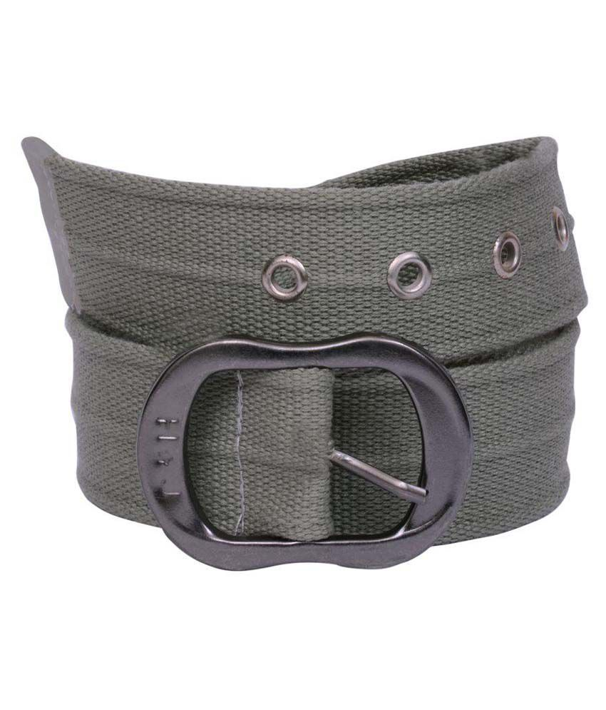 Visach Grey Pin Buckle Belt