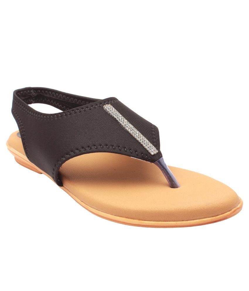 High Step Black Wedge Heels