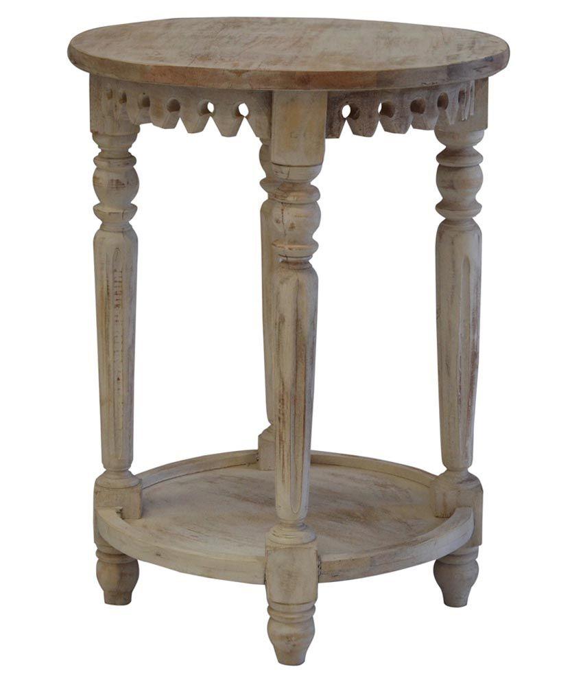 Shekhawati Solid Wood Coffee Table