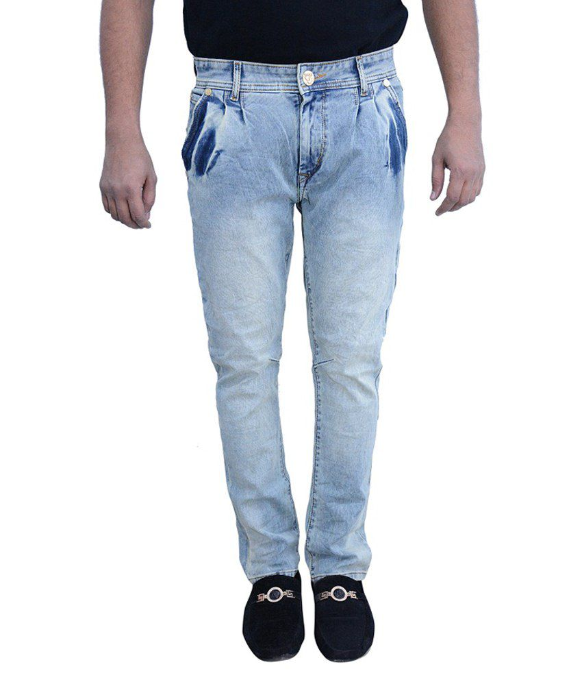 X-play Green Slim Fit Jeans