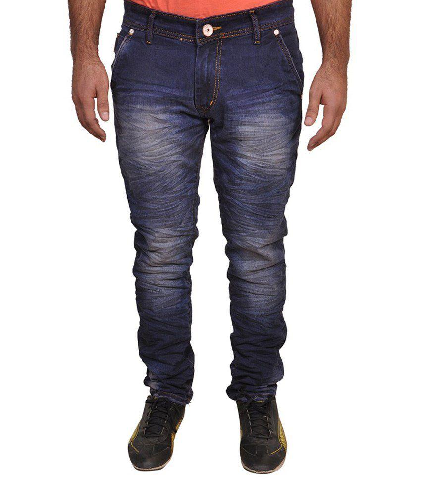Zuari Blue Slim Fit Jeans