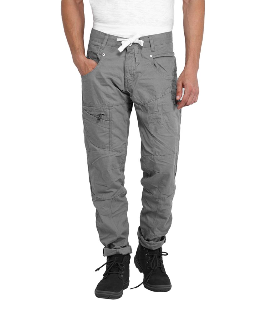 883 Police Grey Cotton Blend Slim Fit Cargo Pant - Buy 883 Police Grey  Cotton Blend Slim Fit Cargo Pant Online at Low Price in India - Snapdeal f28391b0448