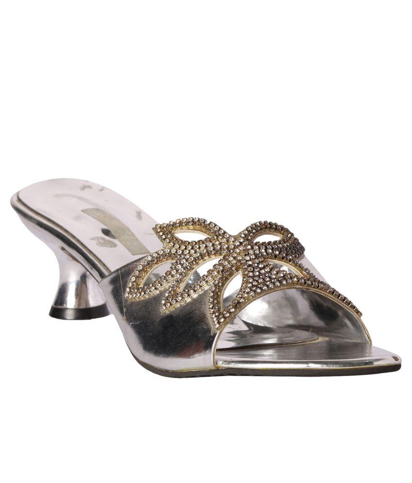Pantof Silver Slip Ons