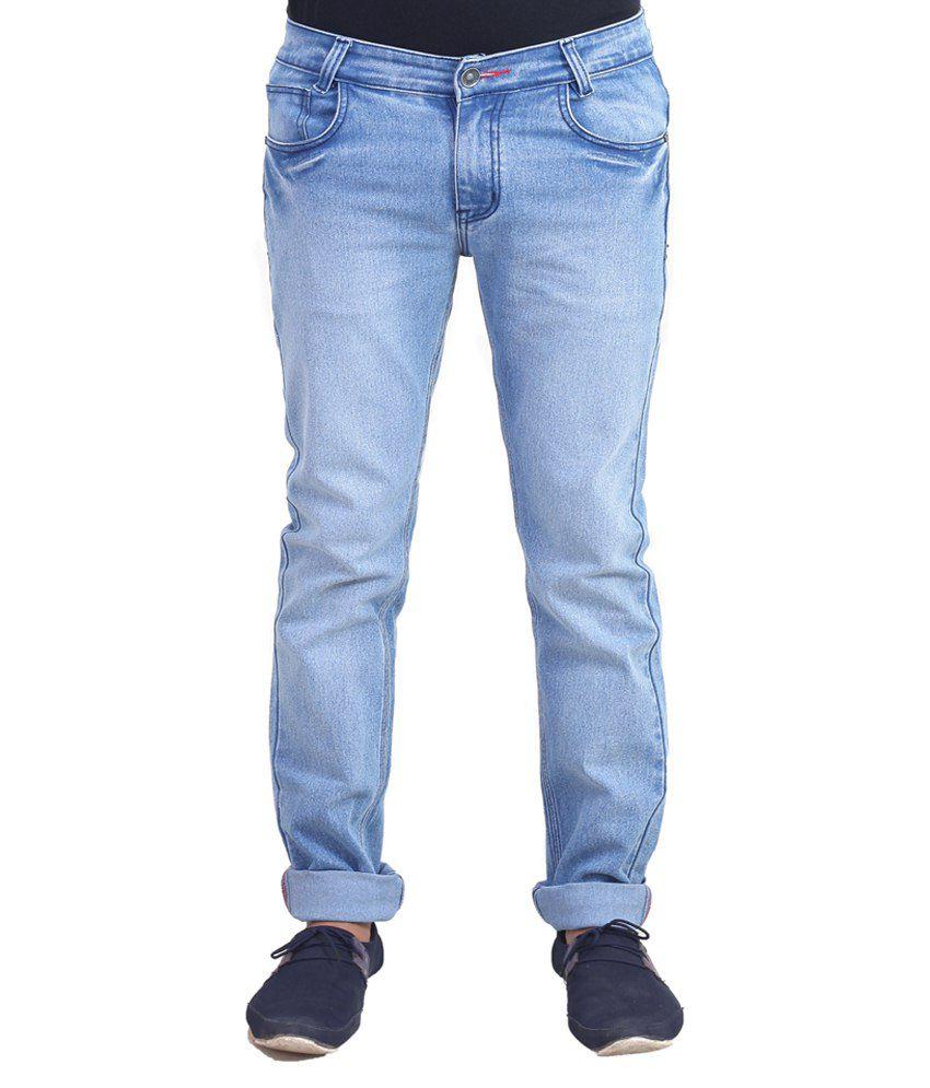 Solzo Blue Slim Fit Jeans