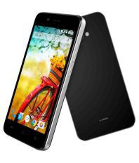 Lava Iris Atom (Black, 8 GB)