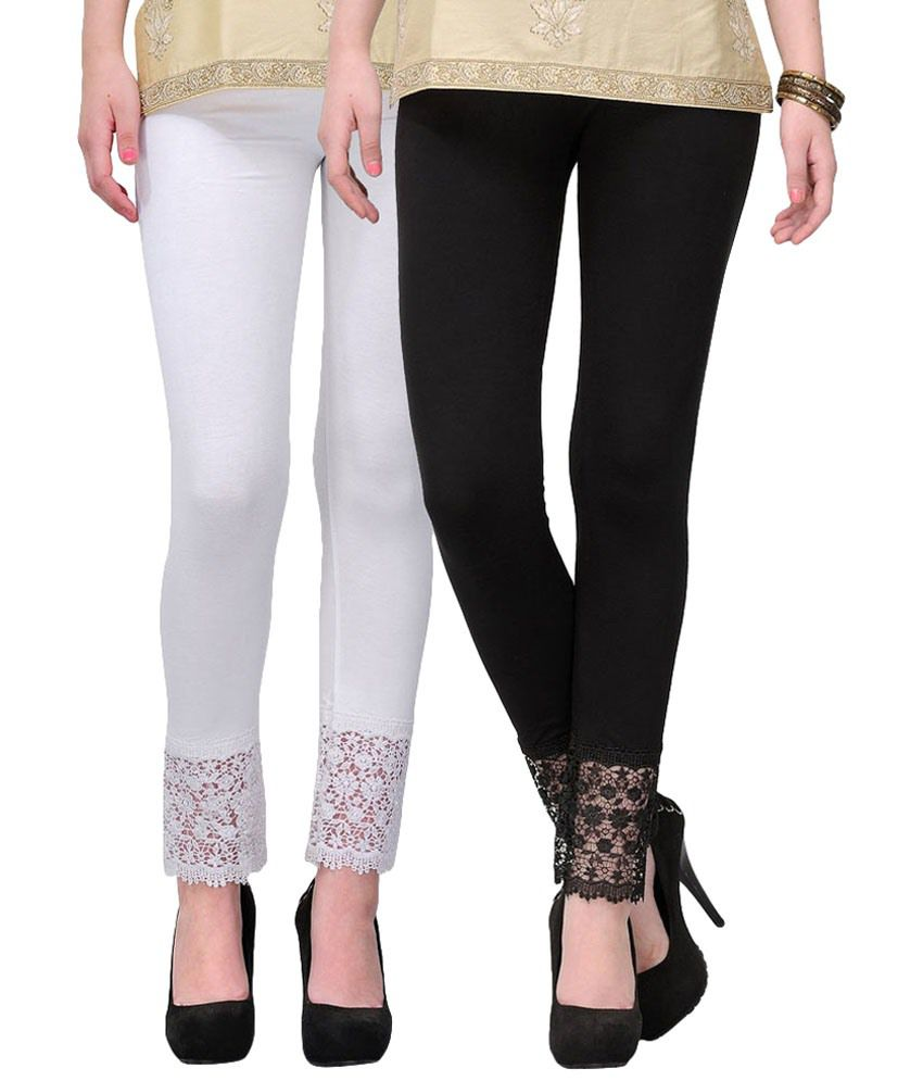 Fashion Arcade Viscose Pack of 2 Leggings