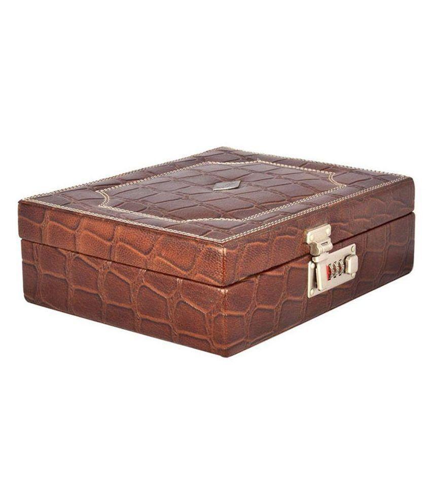 Laveri Brown Jewellery Box