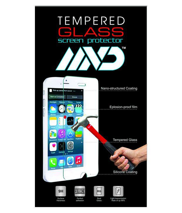 Mvd Tempered Glass Screen Guard For Micromax A116