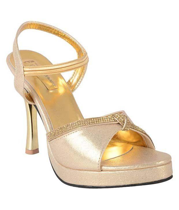 Regal Shoe Golden Cone Heels