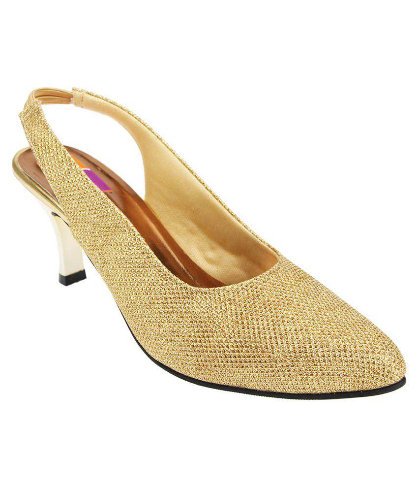 Tycoon Golden Stiletto Heels