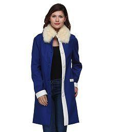 Natty India Blue Woollen Jackets