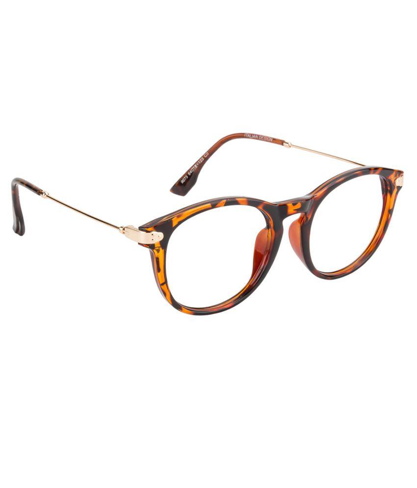 0c372e3ac6 O Positive Brown Round Eye Frame For Men - Buy O Positive Brown ...