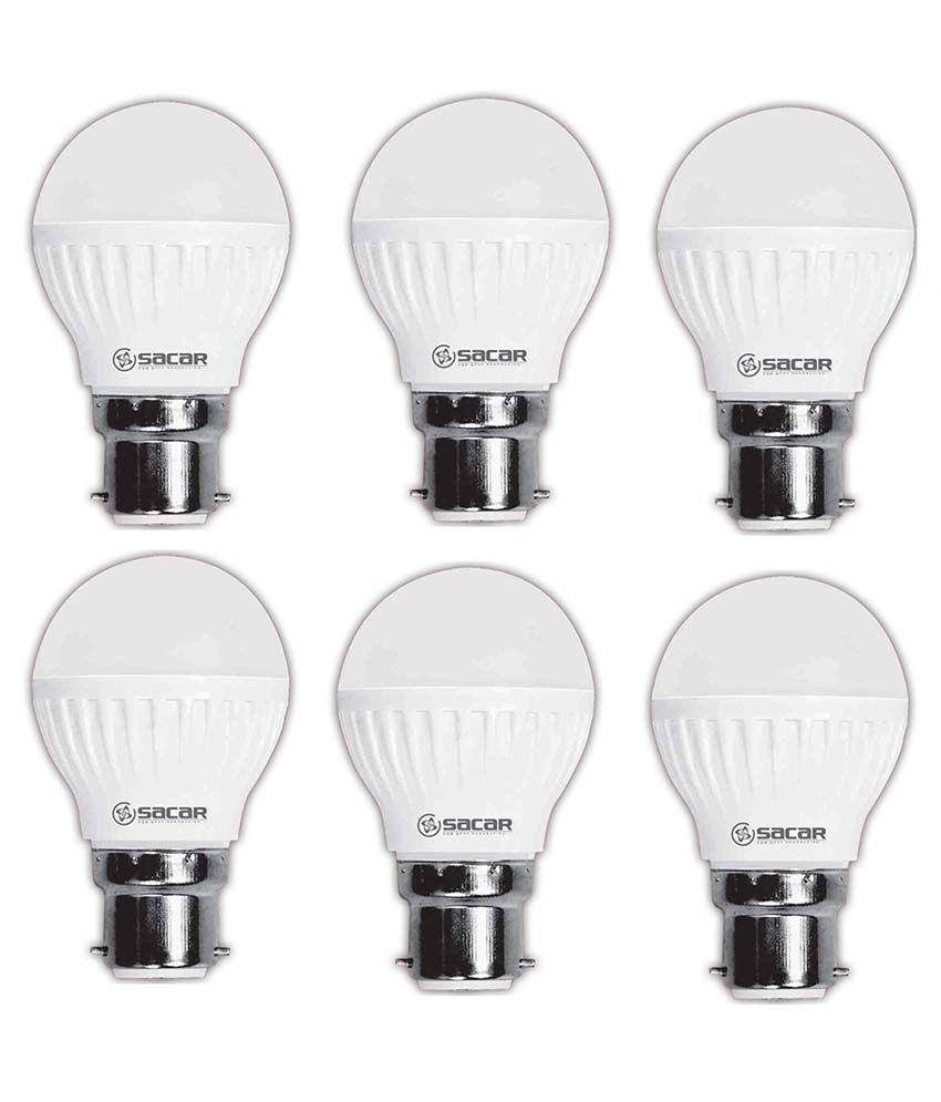 Sacar-11w-Led-Bulb-Pack-Of-6-white