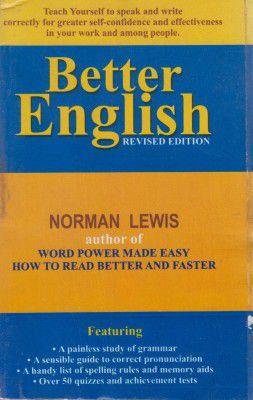 Better English 1st Edition price comparison at Flipkart, Amazon, Crossword, Uread, Bookadda, Landmark, Homeshop18