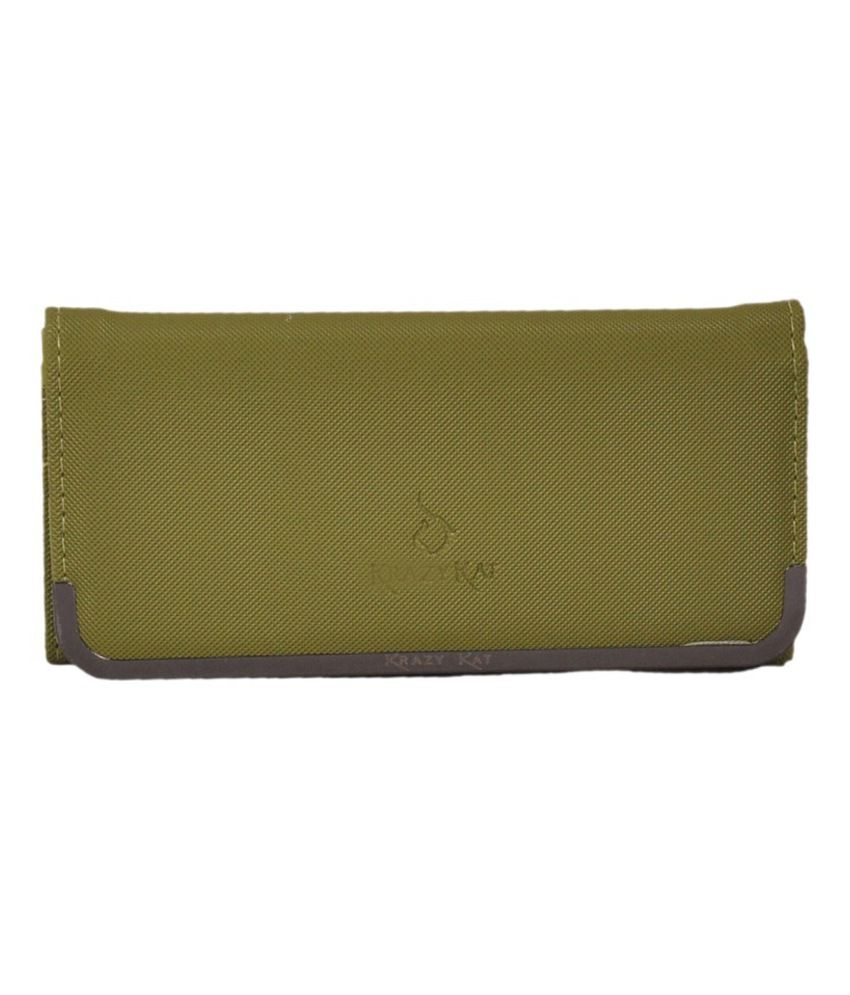 Bellina Green Clutch