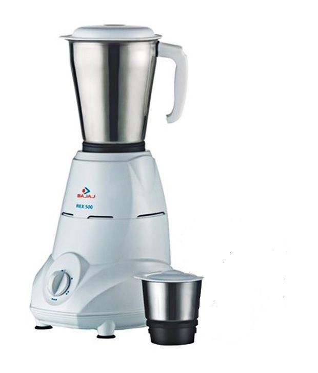 bajaj easy 500 watt mixer grinder with 3 jars