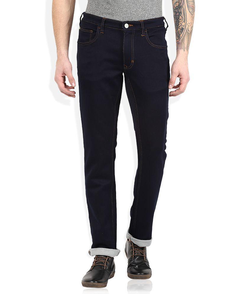 Color Plus Navy Regular Fit Jeans