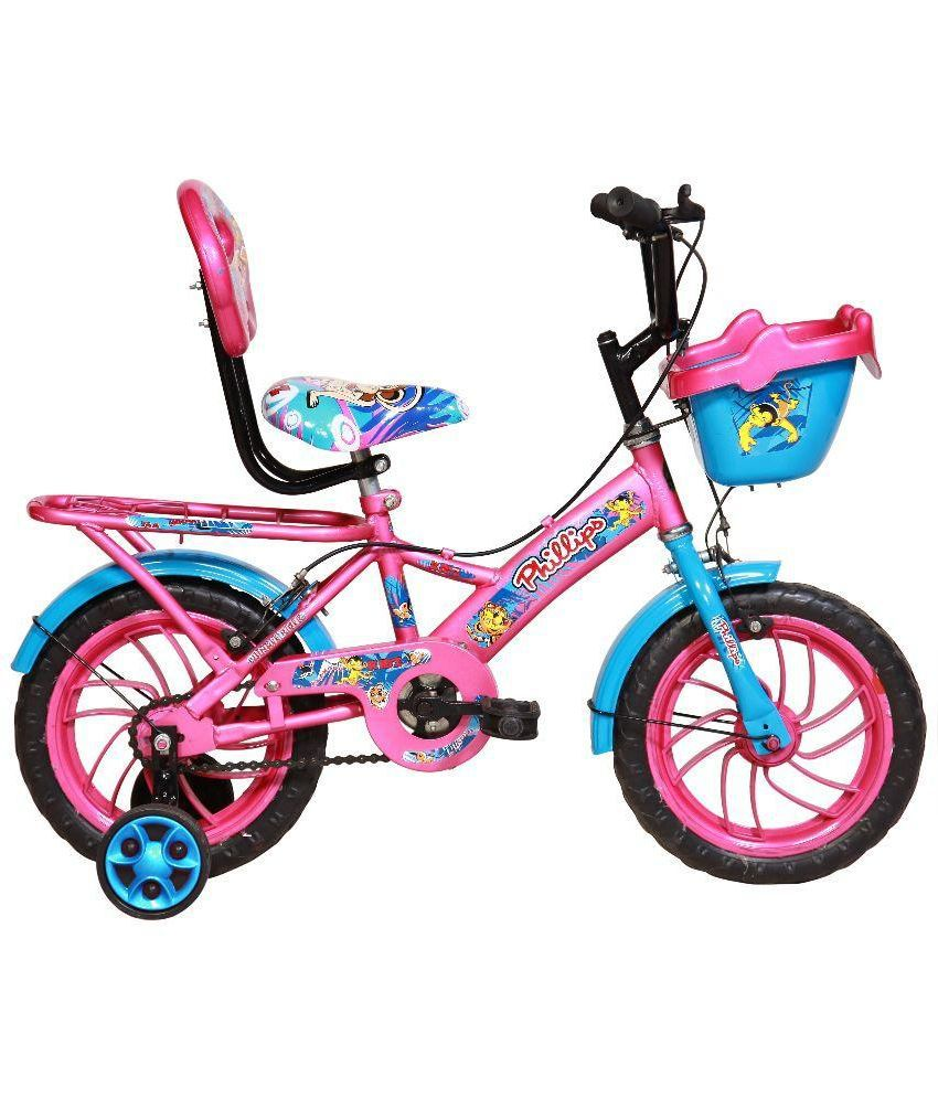 337e43b34a133 BSA Champ Bicycle For Kids - Pink  Buy Online at Best Price on Snapdeal