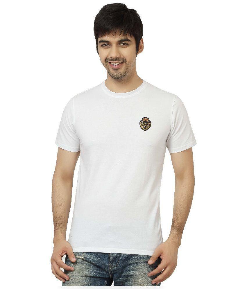 L.A. Seven White Cotton T-shirt