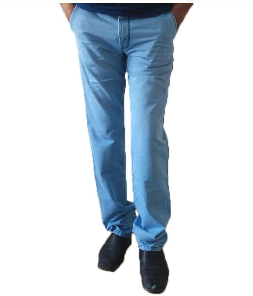 Marx Casual Wear Denim Trouser For Men