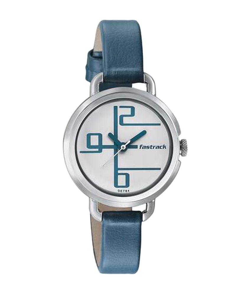 0ea299e4c Fastrack White Dial Analog Women s Watch (6123SL01) Price in India  Buy  Fastrack White Dial Analog Women s Watch (6123SL01) Online at Snapdeal