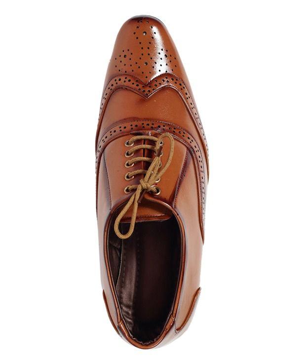 381f3eda469b Mochi G Tan Designer Formal Shoes Price in India- Buy Mochi G Tan ...