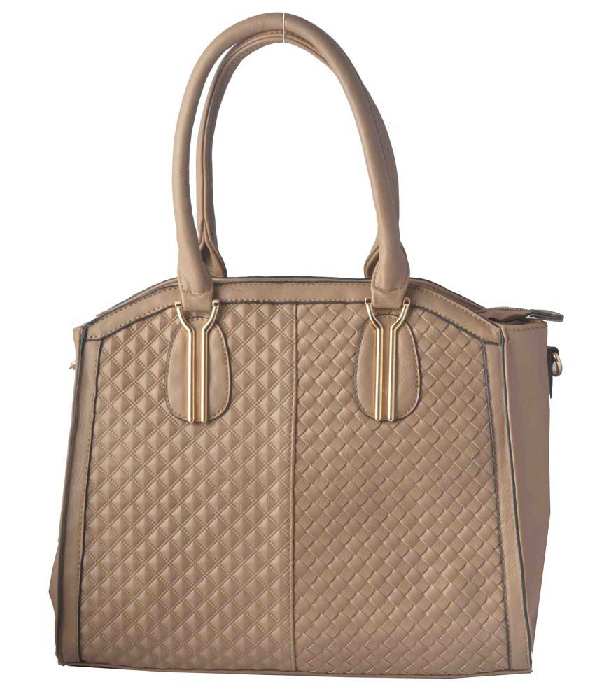 Naaz Collection Brown P.u. Shoulder Bags