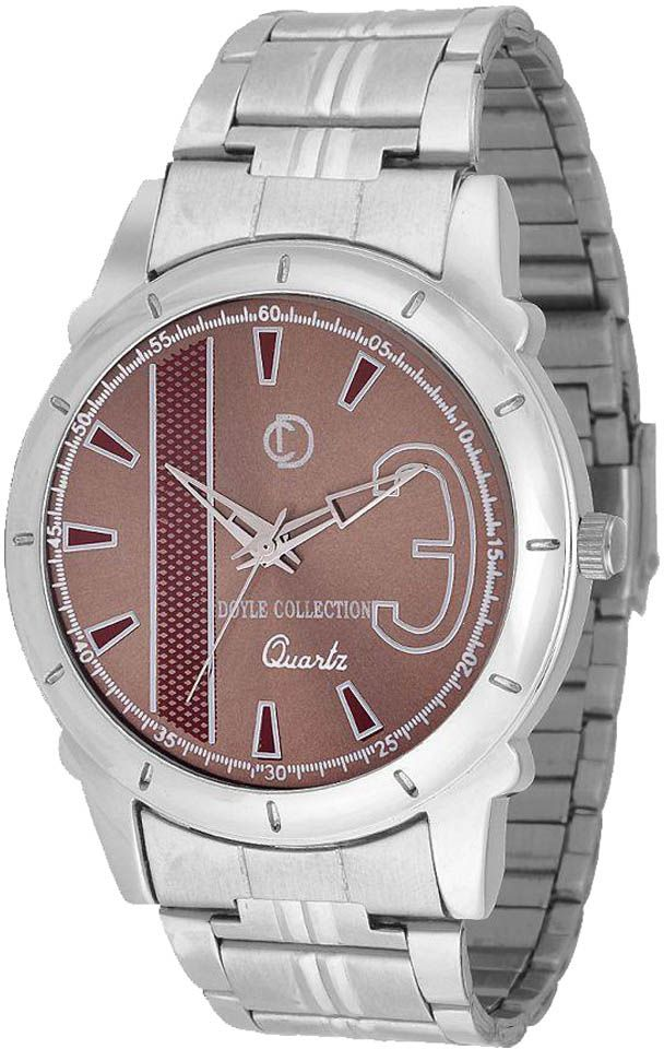 The Doyle Collection The Doyle Collection Silver Analog Watch