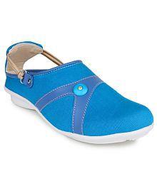 Shezone Blue Casual Shoes