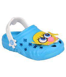 Trilokani Blue Clogs For Kids