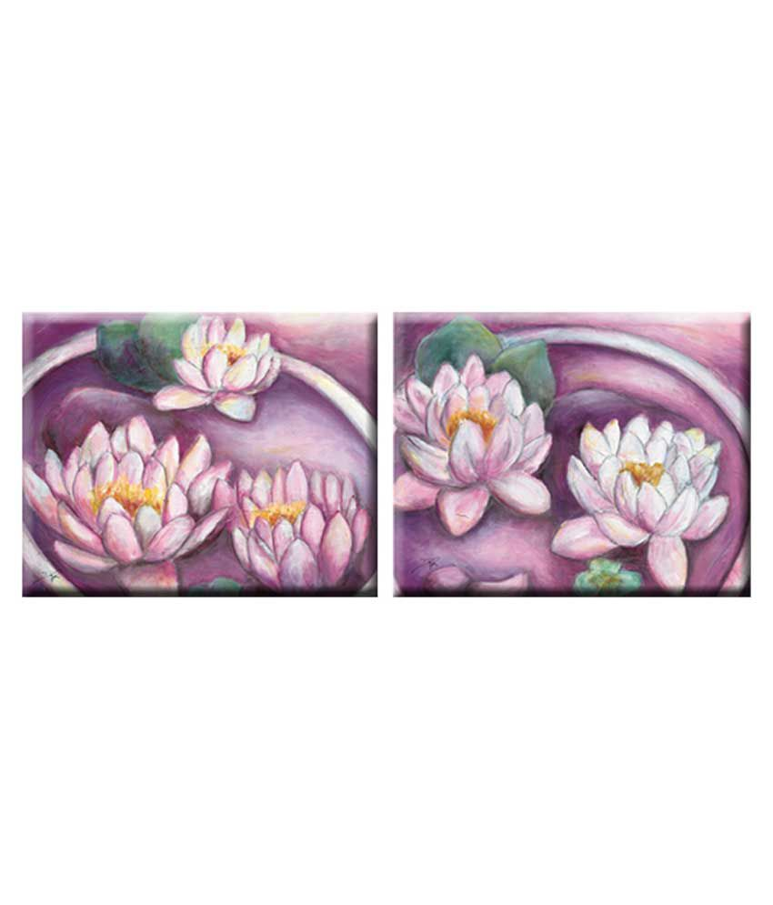 Elegant Arts & Frames Stretched Canvas Art - Set of 2