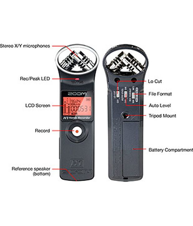 zoom h1 handheld audio recorder black silver buy zoom h1 handheld audio recorder black. Black Bedroom Furniture Sets. Home Design Ideas