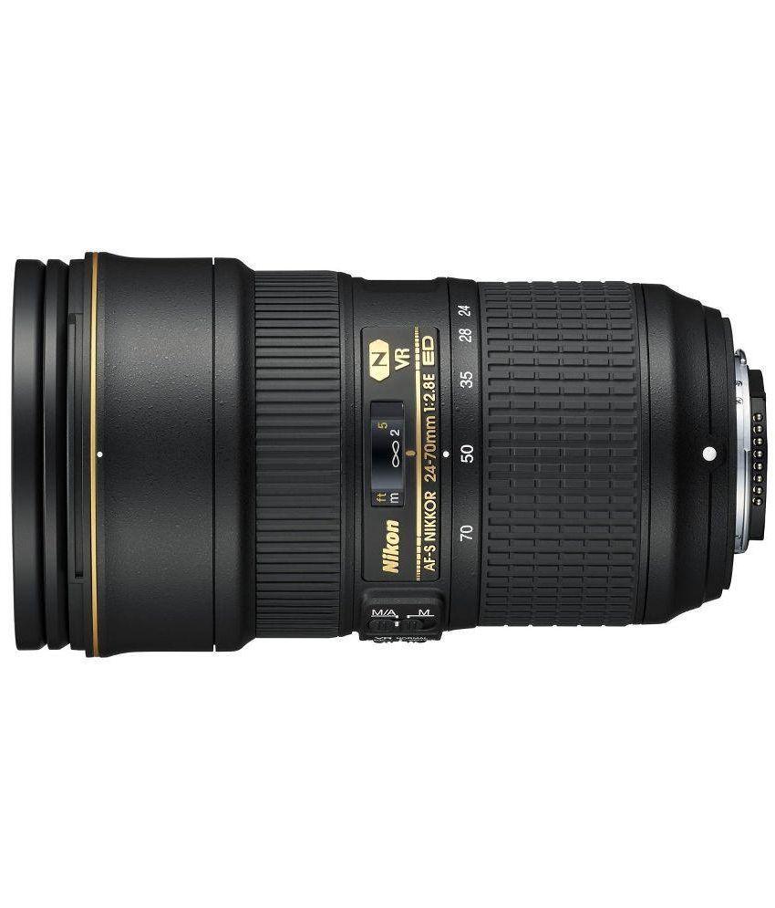 Nikon NIKKOR AF-S 24-70MM F/2.8E ED VR Camera Lens