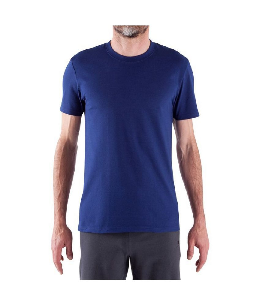 Domyos Men Yoga Short Sleeve Organic T-shirt