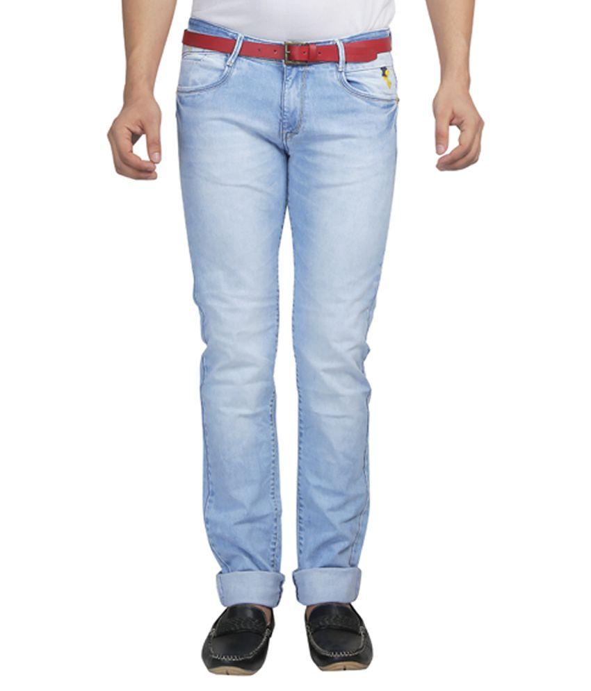Nostrum Jeans Blue Slim Fit Jeans