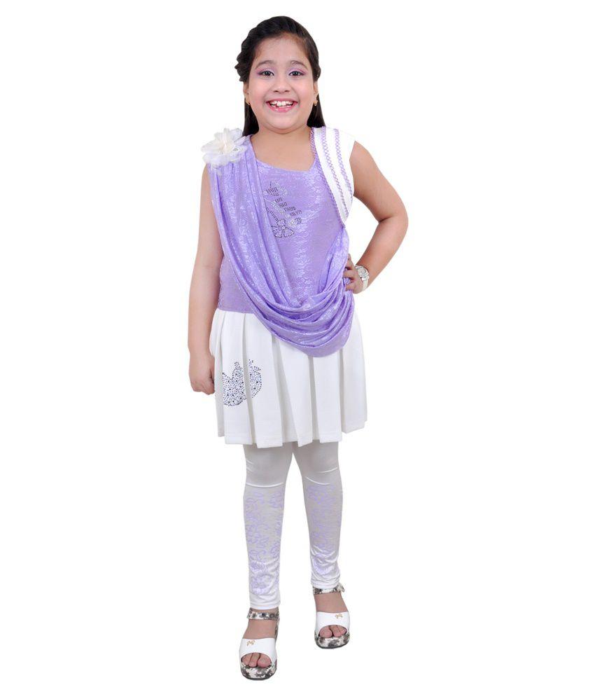 Angel Fashion Multicolour Dress For Girls Buy Angel