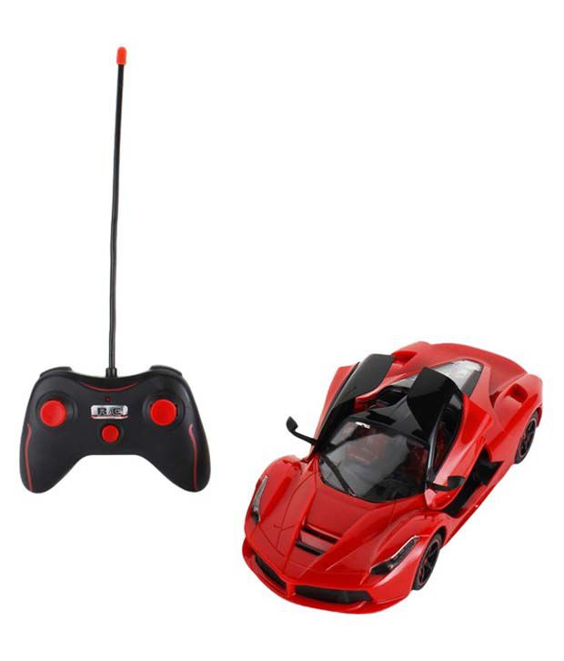 Gm Enterprises Gm Enterprises Red Remote Controlled Ferrari Car