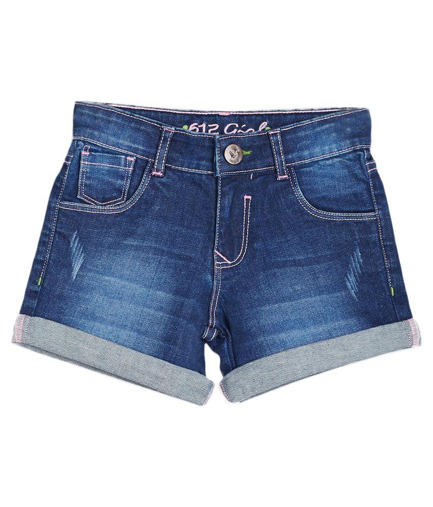 612 League Blue Shorts