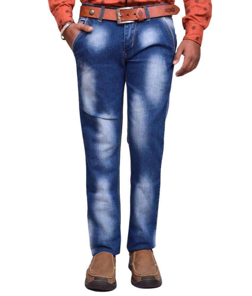 American Noti Blue Slim Fit Jeans