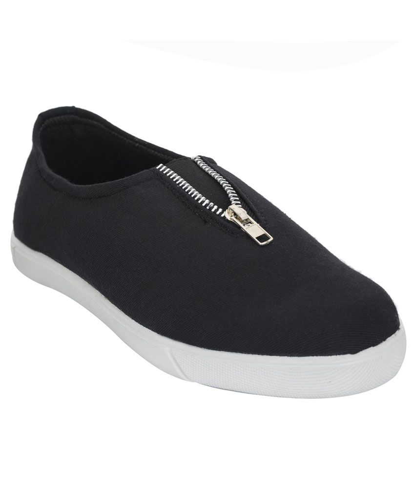 Advin England Black Casual Shoes