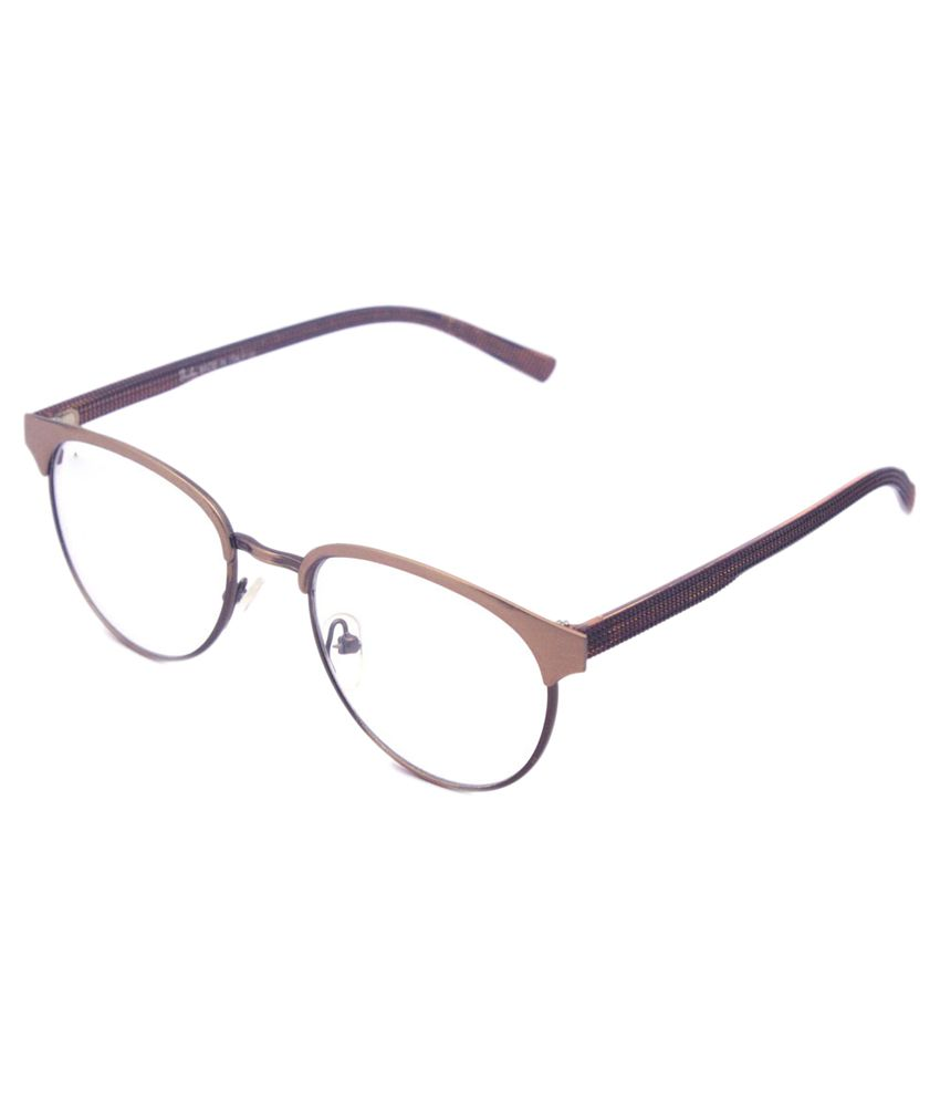 cddc7cd628 The Don Corleone Brown Round Eyeglass Frame For Men - Buy The Don Corleone  Brown Round Eyeglass Frame For Men Online at Low Price - Snapdeal