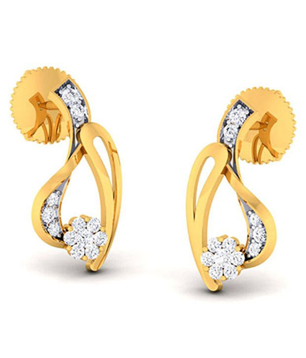 Kiara 92.5 Sterling Multicolour Stud Earrings