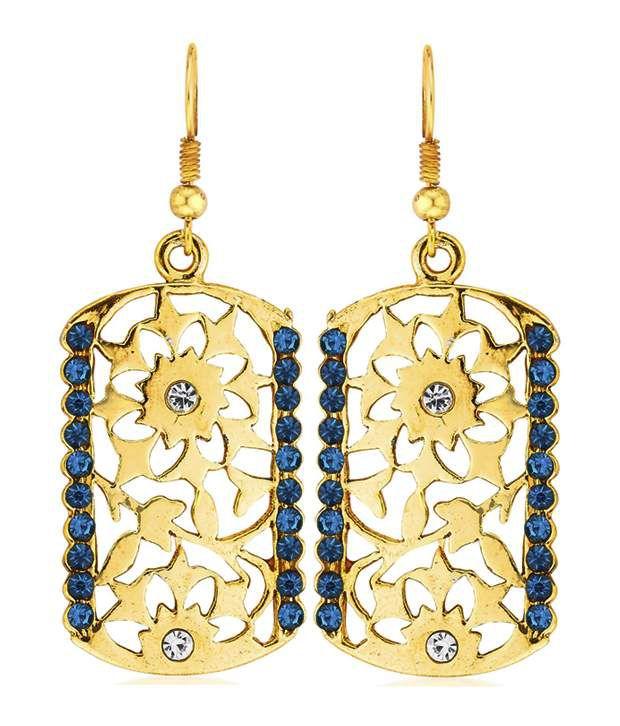 Kshitij Jewels Geometrics Alloy Hangings