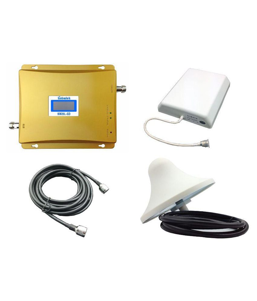 Lintratek Kw20l-gd Mobile Signal Booster 3200 3G Other apart from Black & White