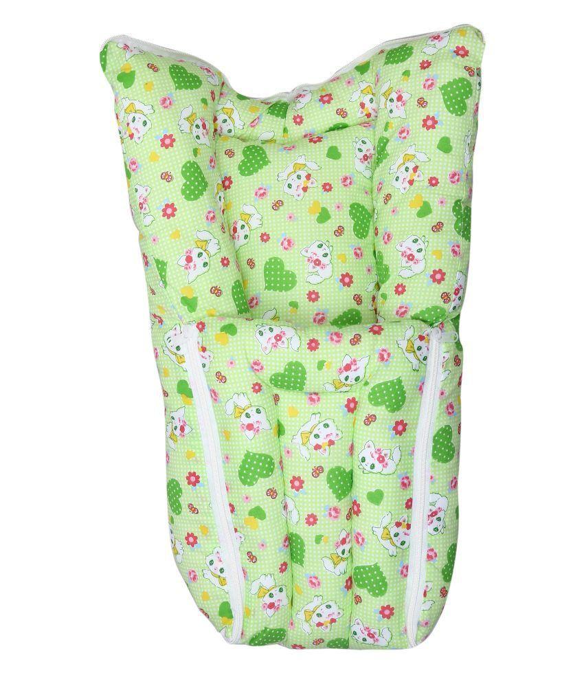 Eshelle Green Recron Baby Bedding Set